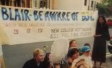 1999 Blair Activism