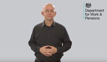 Access to Work presenter video still